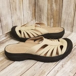 Keen Women's Size 8 Sandals Strapy Leather Slip On